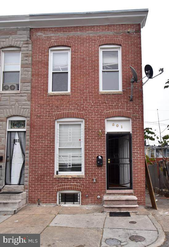 501 N Rose Street, BALTIMORE, MD 21205 (#MDBA529486) :: The MD Home Team