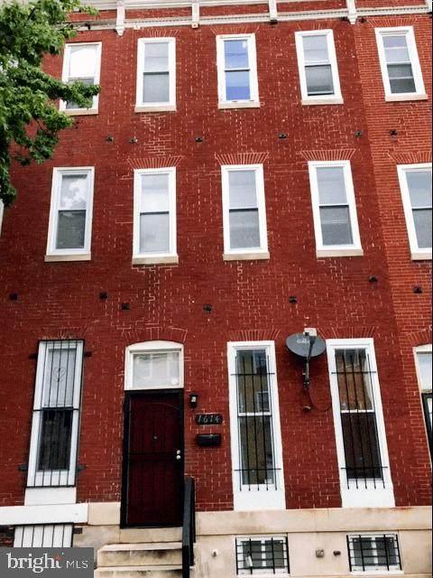 1614 W Lexington Street, BALTIMORE, MD 21223 (#MDBA530304) :: Gail Nyman Group