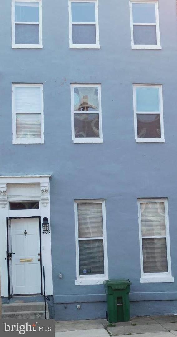 1603 W Lexington Street, BALTIMORE, MD 21223 (#MDBA530316) :: Gail Nyman Group