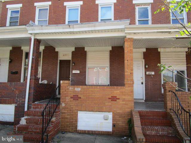 605 N Robinson Street, BALTIMORE, MD 21205 (#MDBA530590) :: Gail Nyman Group