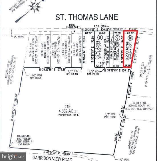 St Thomas Lane, OWINGS MILLS, MD 21117 (#MDBC514034) :: The Licata Group/Keller Williams Realty