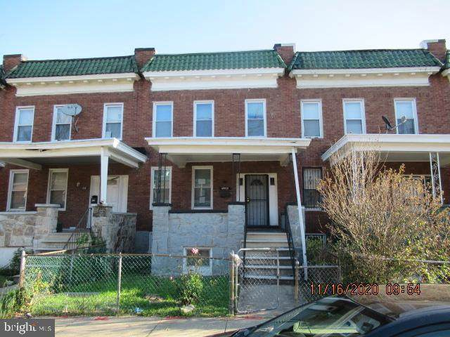 4909 Queensberry Avenue, BALTIMORE, MD 21215 (#MDBA532880) :: Bob Lucido Team of Keller Williams Integrity