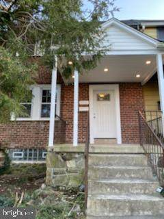 2521 Park Heights Terrace, BALTIMORE, MD 21215 (#MDBA533686) :: Network Realty Group