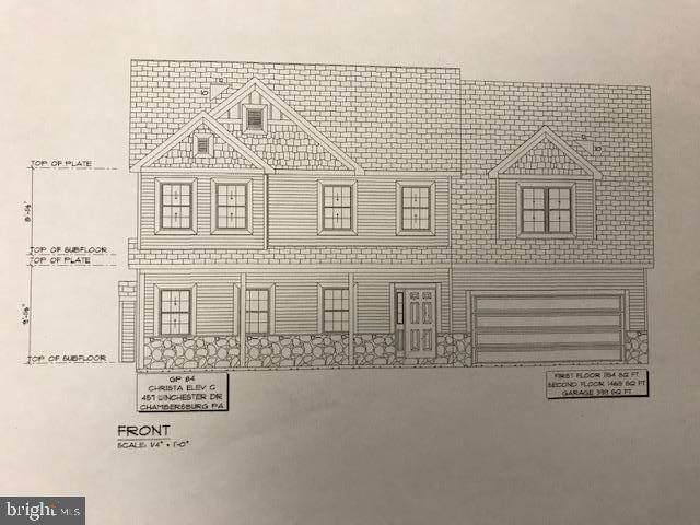 457 Winchester Drive, CHAMBERSBURG, PA 17202 (#PAFL177246) :: Crossman & Co. Real Estate