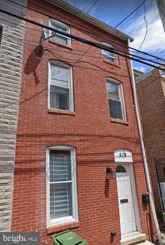 519 S Regester Street, BALTIMORE, MD 21231 (#MDBA535230) :: SURE Sales Group