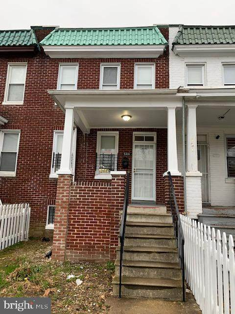 5210 Cuthbert Avenue, BALTIMORE, MD 21215 (#MDBA535232) :: Network Realty Group