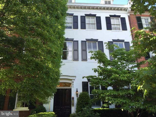 3333 N Street NW #4, WASHINGTON, DC 20007 (#DCDC504062) :: Nesbitt Realty