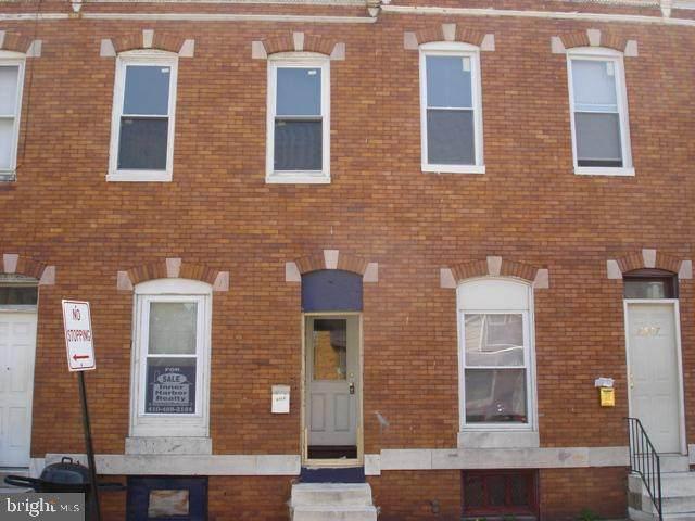 2605 W Fairmount Avenue, BALTIMORE, MD 21223 (#MDBA537348) :: SURE Sales Group