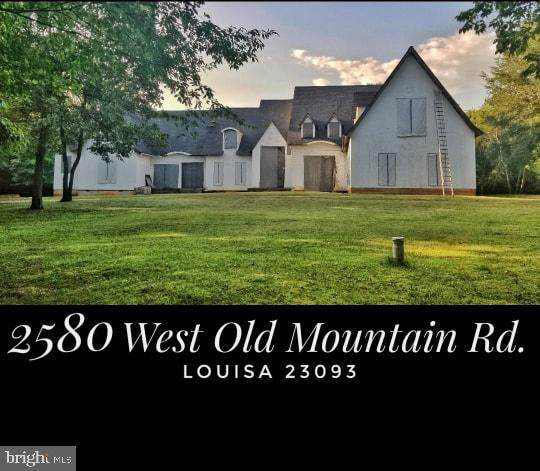 2580 W Old Mountain Road, LOUISA, VA 23093 (#VALA122580) :: Potomac Prestige