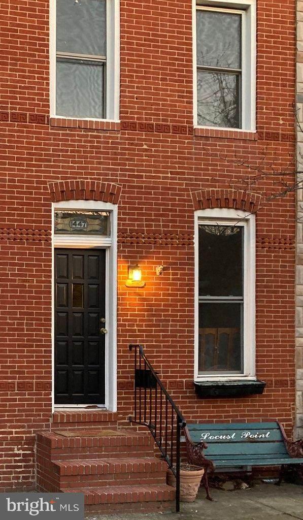1447 Andre Street, BALTIMORE, MD 21230 (#MDBA540258) :: EXIT Realty Enterprises
