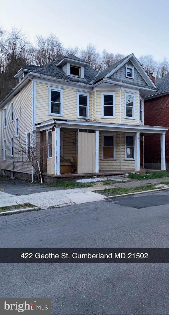 422 Goethe Street, CUMBERLAND, MD 21502 (#MDAL136584) :: Crossman & Co. Real Estate
