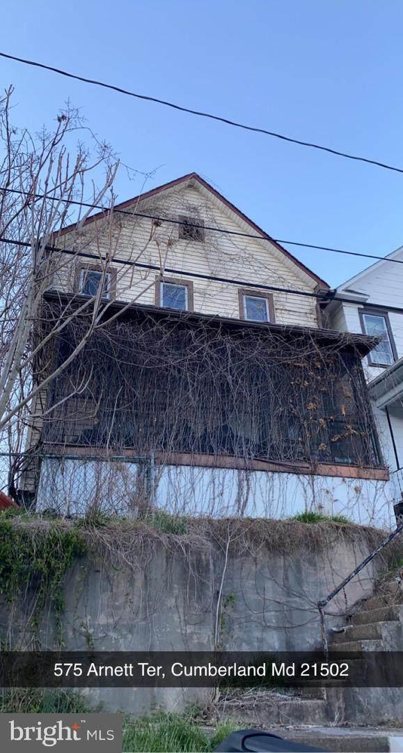 575 Arnett Terrace, CUMBERLAND, MD 21502 (#MDAL136596) :: The Riffle Group of Keller Williams Select Realtors