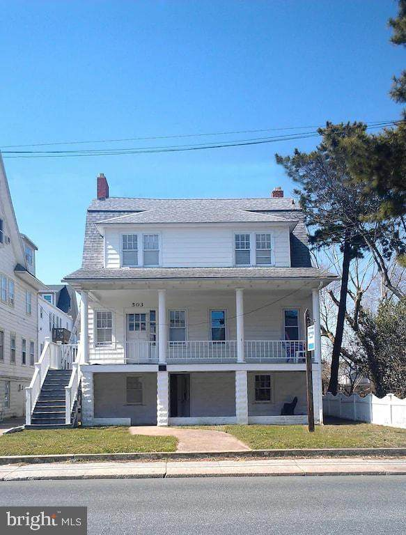 503 N Baltimore Avenue, OCEAN CITY, MD 21842 (#MDWO121656) :: Gail Nyman Group