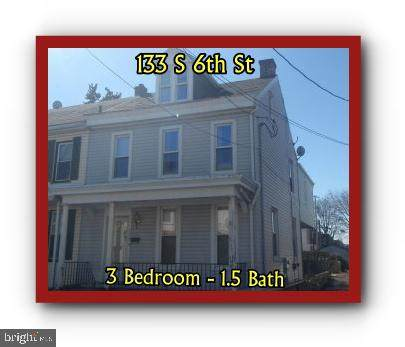133 S 6TH Street, LEBANON, PA 17042 (#PALN119152) :: Iron Valley Real Estate