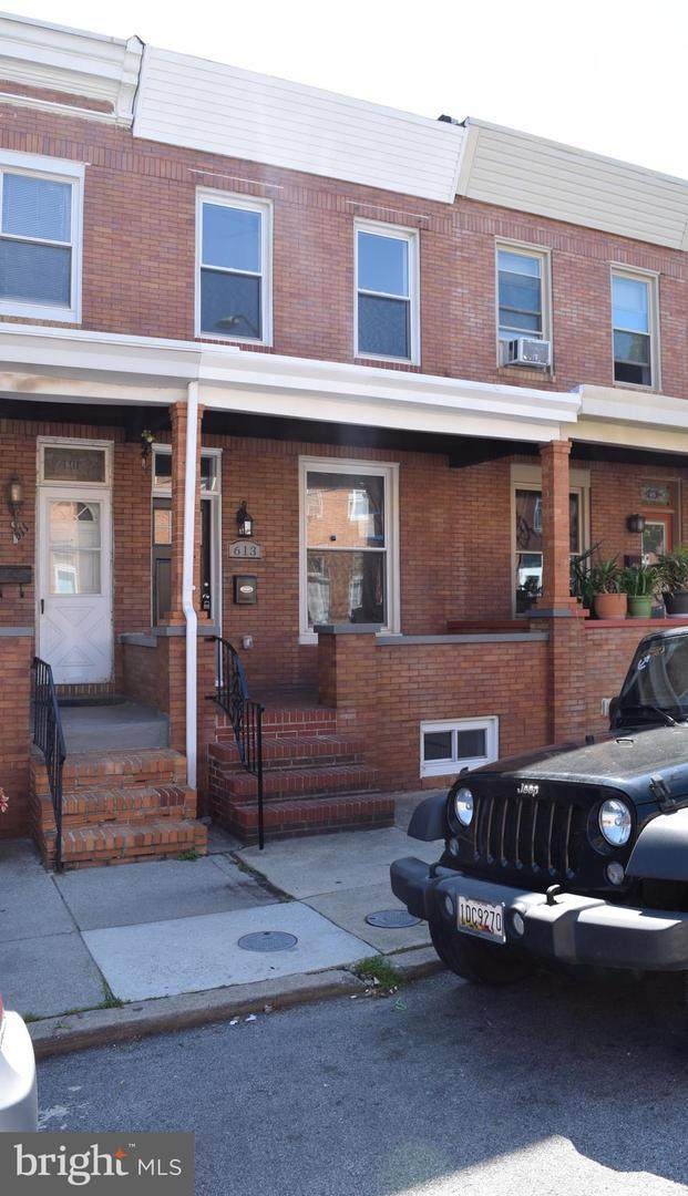 613 S Eaton Street, BALTIMORE, MD 21224 (#MDBA550904) :: New Home Team of Maryland