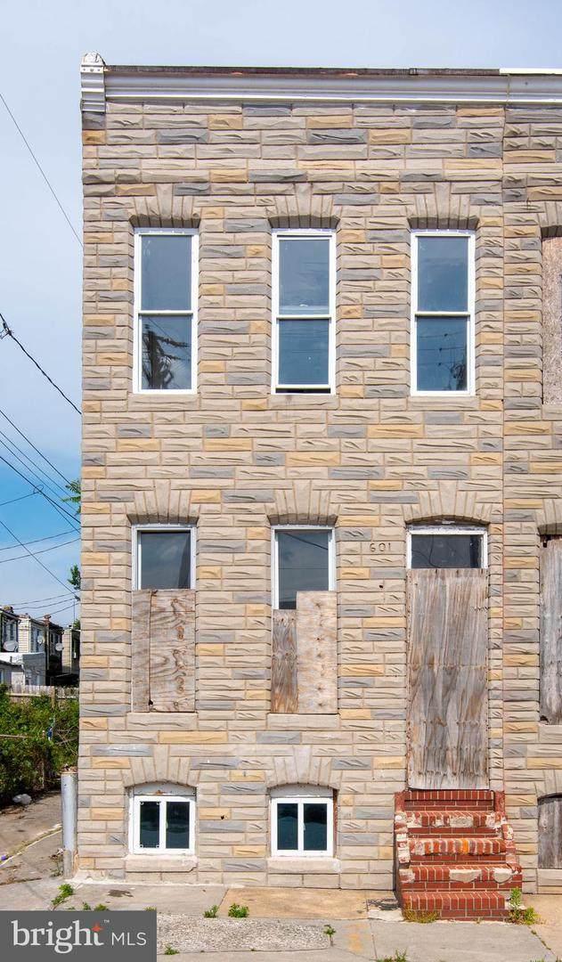 601 S Bentalou Street, BALTIMORE, MD 21223 (#MDBA551632) :: Jennifer Mack Properties
