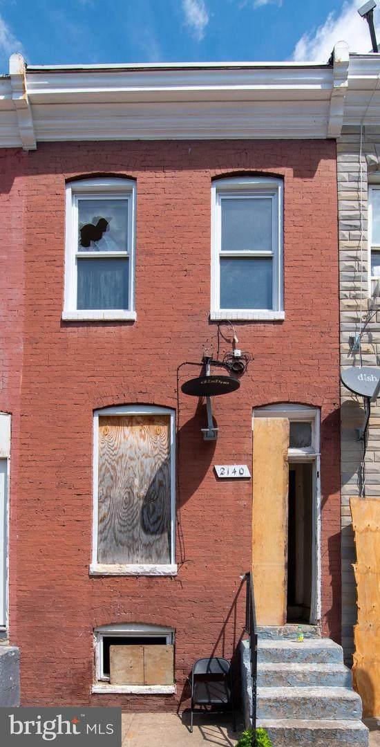2140 Boyd Street, BALTIMORE, MD 21223 (#MDBA553456) :: Sunrise Home Sales Team of Mackintosh Inc Realtors