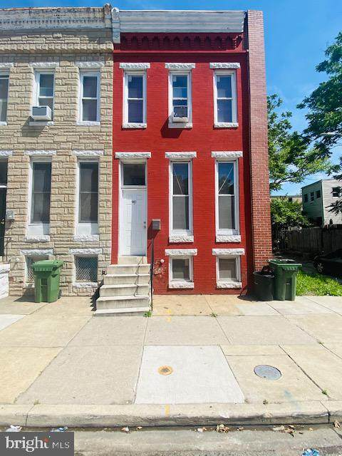 1902 Hollins Street, BALTIMORE, MD 21223 (#MDBA554658) :: The Dailey Group