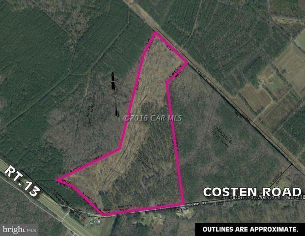 Costen Road, WESTOVER, MD 21871 (#1001562396) :: RE/MAX Coast and Country