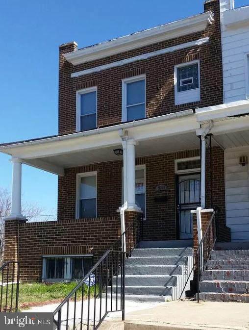 1511 N Smallwood Street, BALTIMORE, MD 21216 (#MDBA2000338) :: Bic DeCaro & Associates