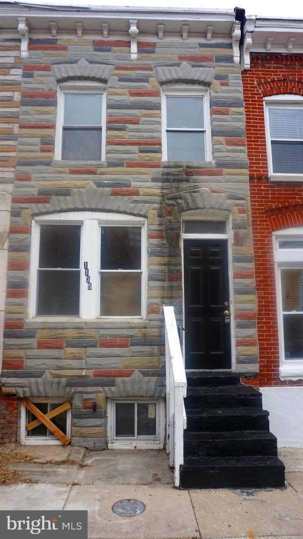 1135 Ward Street, BALTIMORE, MD 21230 (#MDBA2000404) :: AJ Team Realty