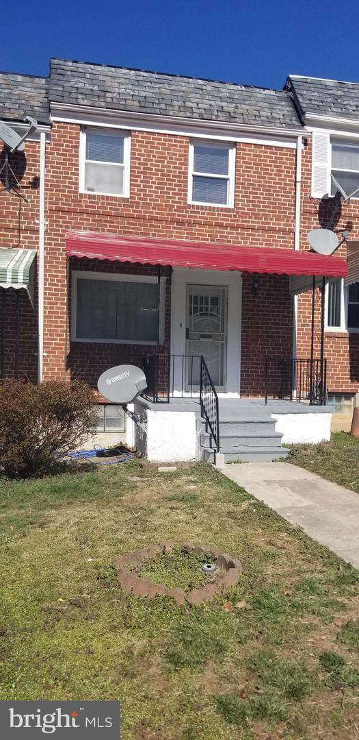 1021 Wedgewood Road, BALTIMORE, MD 21229 (#MDBA2000474) :: ExecuHome Realty