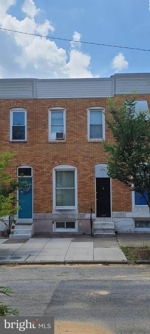 642 S Macon Street, BALTIMORE, MD 21224 (#MDBA2003640) :: Century 21 Dale Realty Co