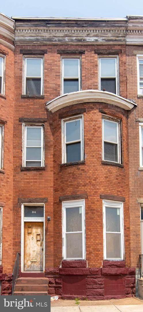 804 E North Avenue, BALTIMORE, MD 21202 (#MDBA2005696) :: Murray & Co. Real Estate