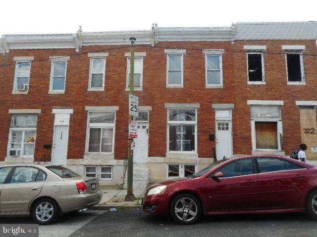 720 N Lakewood Avenue, BALTIMORE, MD 21205 (#MDBA2009052) :: Dart Homes