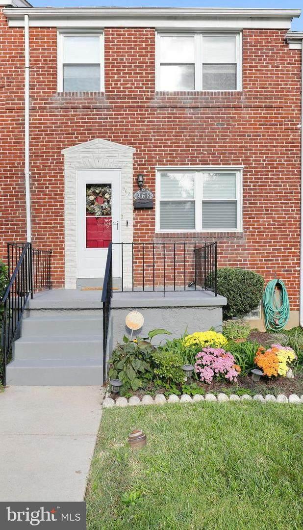 968 Saint Agnes Lane, BALTIMORE, MD 21207 (#MDBC2008850) :: Compass