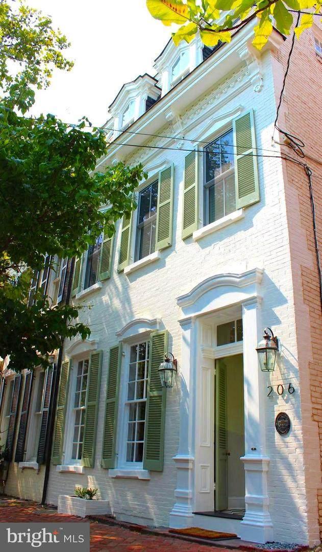 206 N Royal Street, ALEXANDRIA, VA 22314 (#VAAX2003708) :: Nesbitt Realty