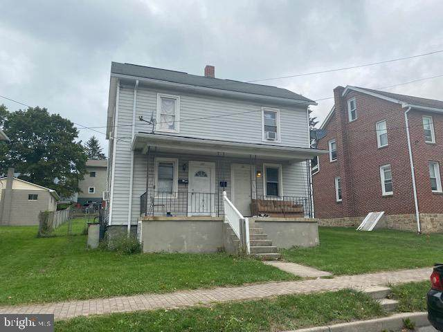 133 Center Street, FROSTBURG, MD 21532 (#MDAL2000906) :: The Maryland Group of Long & Foster Real Estate