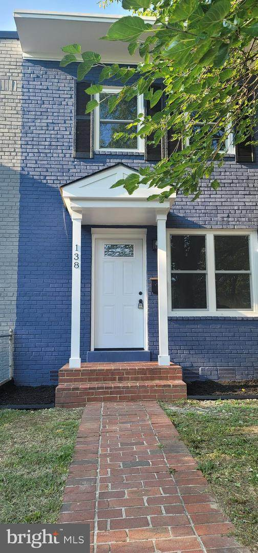 138 Dale Street, ALEXANDRIA, VA 22305 (#VAAX2003844) :: Nesbitt Realty