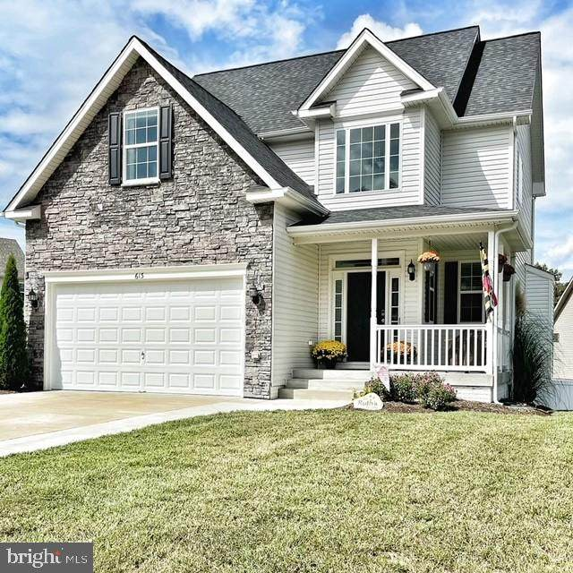 613 Yearling Drive, PRINCE FREDERICK, MD 20678 (#MDCA2001950) :: The Maryland Group of Long & Foster Real Estate
