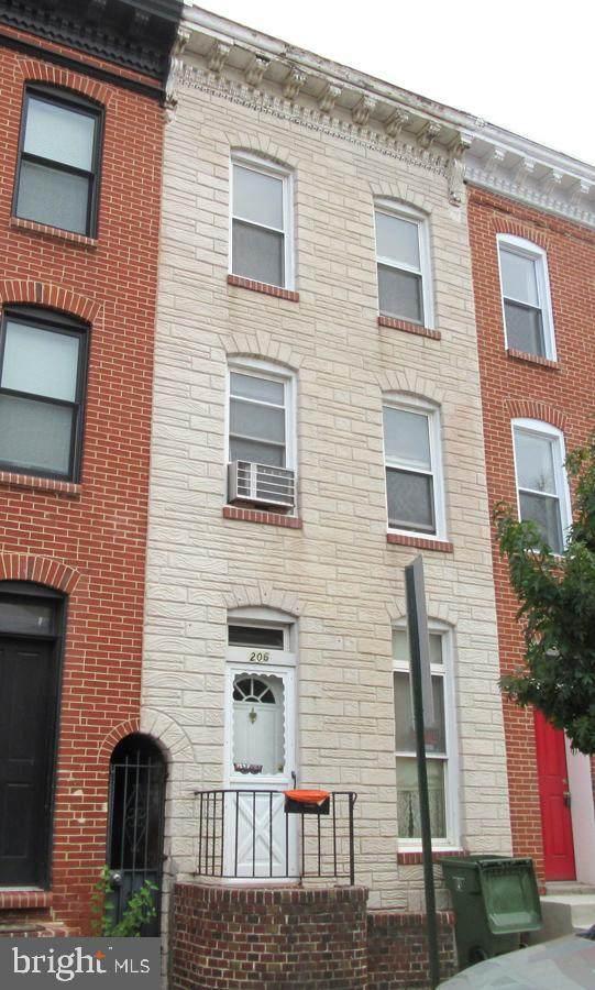206 E Fort Avenue, BALTIMORE, MD 21230 (#MDBA2013328) :: Revol Real Estate