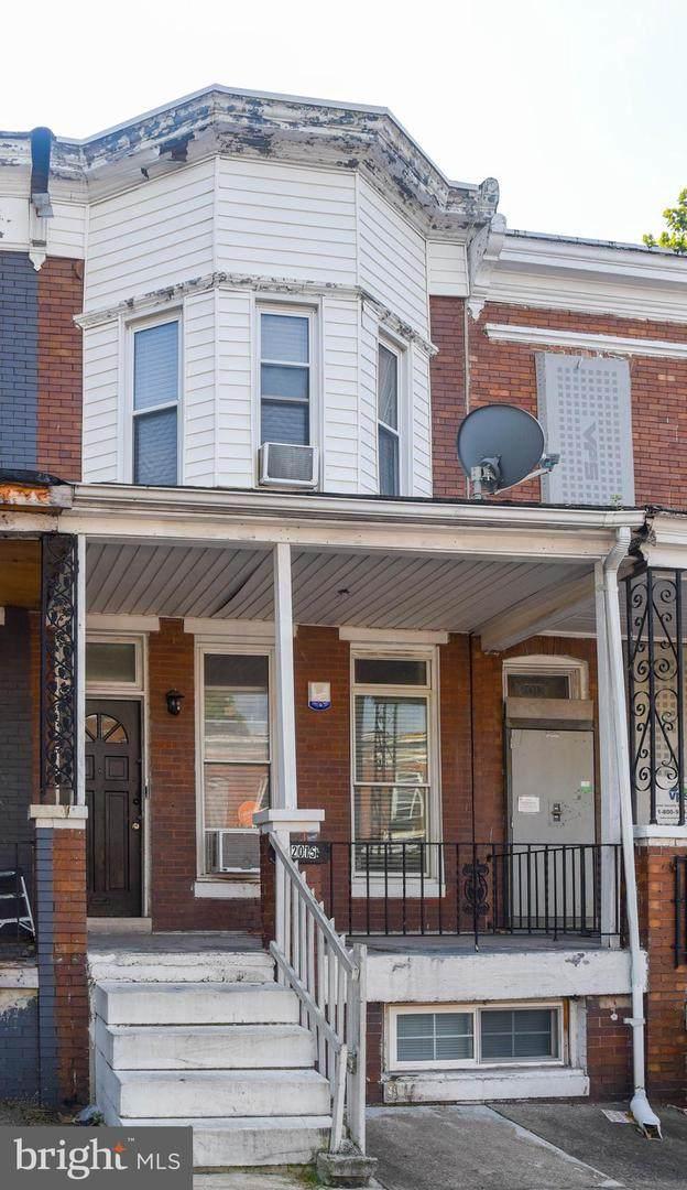 2015 Robb Street, BALTIMORE, MD 21218 (#MDBA2013476) :: Integrity Home Team