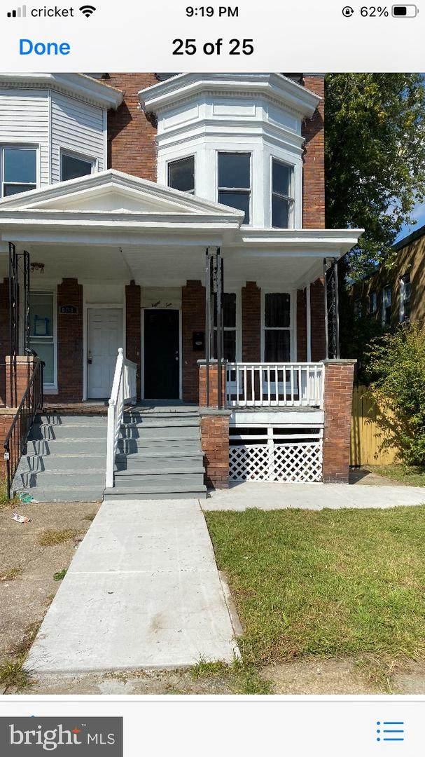 810 Cator Avenue, BALTIMORE, MD 21218 (#MDBA2014996) :: Dart Homes