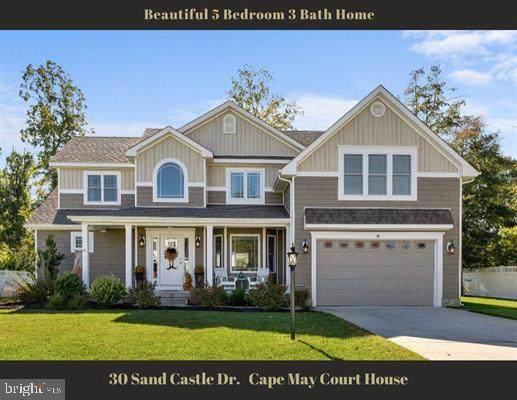 30 Sand Castle Drive, CAPE MAY COURT HOUSE, NJ 08210 (#NJCM2000360) :: Compass