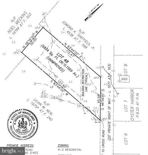 1222 Cross Road, ANNAPOLIS, MD 21403 (#1000132769) :: Colgan Real Estate