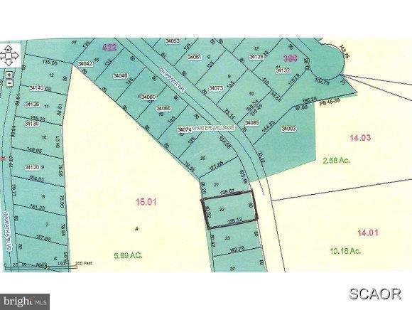 LOT 22 Chippiwa Drive, DAGSBORO, DE 19939 (#1001565254) :: Barrows and Associates