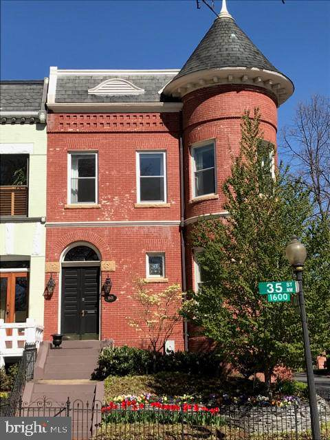 1601 35TH Street NW, WASHINGTON, DC 20007 (#DCDC470518) :: The Licata Group/Keller Williams Realty