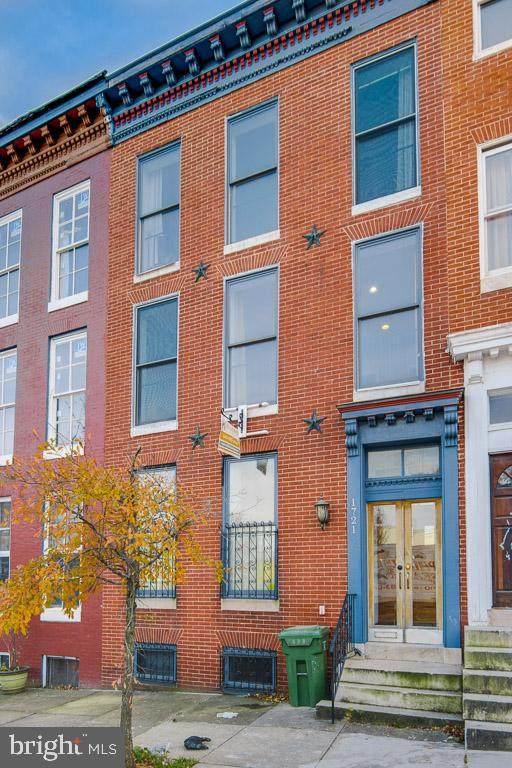 1721 Hollins Street, BALTIMORE, MD 21223 (#MDBA527668) :: SURE Sales Group