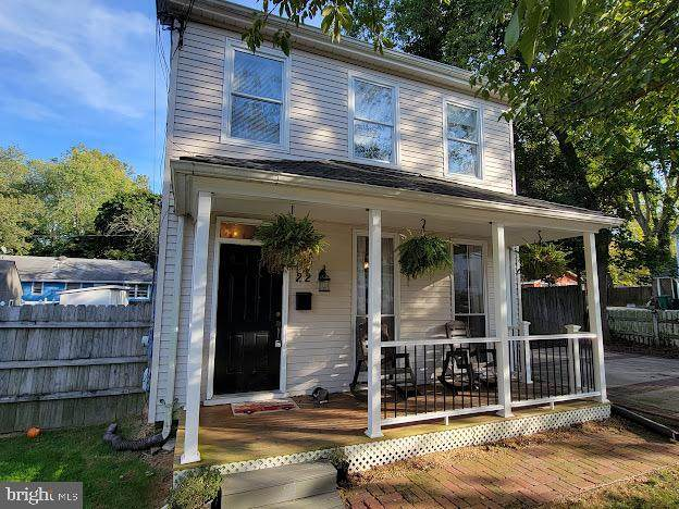 22 Post Office Avenue, LAUREL, MD 20707 (#MDPG2000375) :: Revol Real Estate