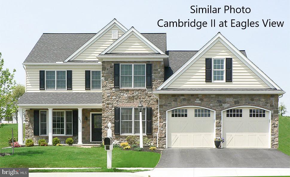 Cambridge Ii Model At Eagles View - Photo 1