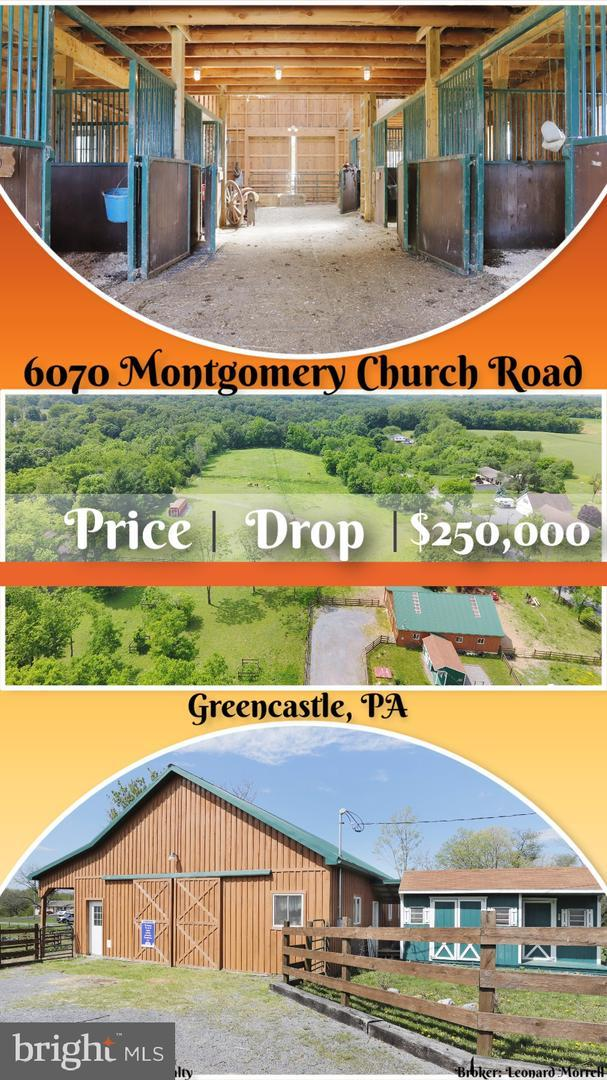 6070 Montgomery Church Road, GREENCASTLE, PA 17225 (#PAFL164862) :: Teampete Realty Services, Inc