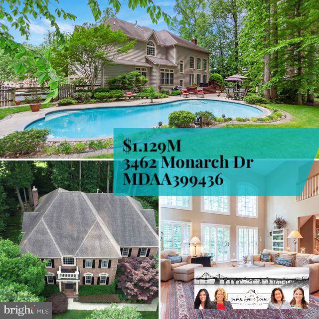 3462 Monarch Drive, EDGEWATER, MD 21037 (#MDAA399436) :: Blackwell Real Estate