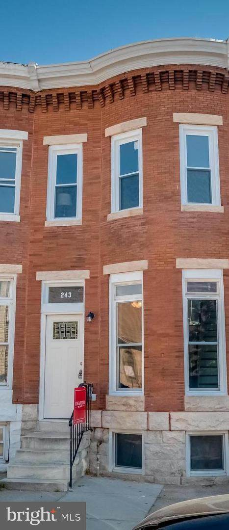 243 N Luzerne Avenue, BALTIMORE, MD 21224 (#MDBA2005286) :: The Sky Group