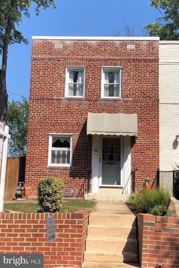 418 E Bellefonte Avenue, ALEXANDRIA, VA 22301 (#VAAX239484) :: The Licata Group/Keller Williams Realty