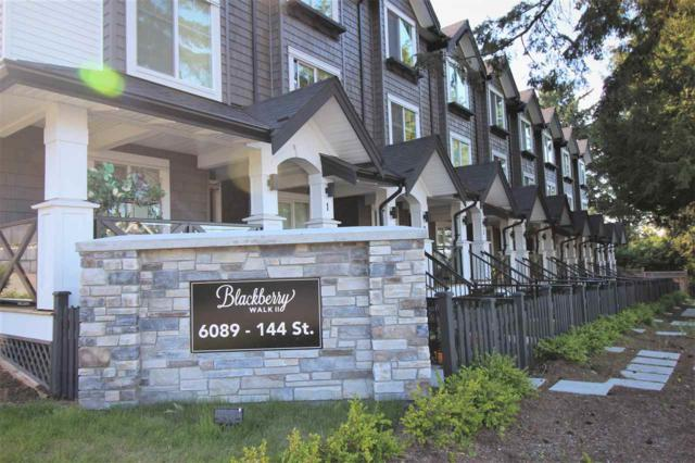 6089 144 Street #11, Surrey, BC V3X 1A4 (#R2181631) :: Vallee Real Estate Group