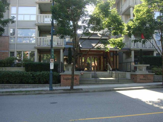 801 Klahanie Drive #201, Port Moody, BC V3H 5K4 (#R2181917) :: Vallee Real Estate Group